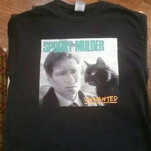 Jawbreaker band shirt. X-files Spooky Mulder